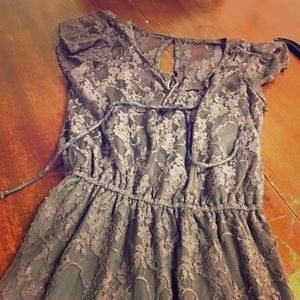 Dress, pretty, lace.